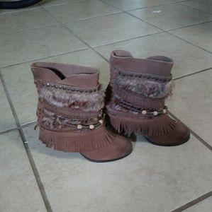 New Naughty Monkey Sanchez Boots